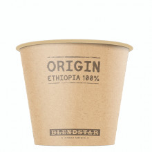 BLENDSTAR Single Origin paper cup Espresso to go (120 ml)
